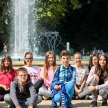 Budapesten jártak a Szent Efrém diákrádiósai class=