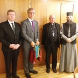 Debrecen püspökei együtt látogattak Genfbe class=