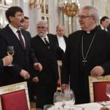 Áder János ebéden fogadta a hazai történelmi egyházak ... class=