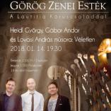 Január 14: ismét Görög Zenei Esték class=