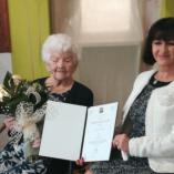 100. születésnapját ünnepelte Lenke néni class=