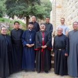 A szír katolikus egyházfővel találkozott Fülöp atya class=