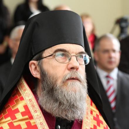 Előszenteltek Liturgiája Atanáz atyával Debrecenben class=