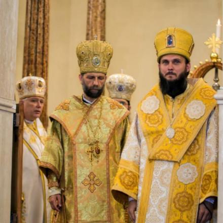 Püspökké Szentelték Szocska A. Ábel Atyát class=