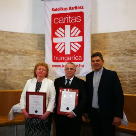 Caritas Hungarica Díjat kaptak a Hajdúdorogi Főegyházmeg... class=