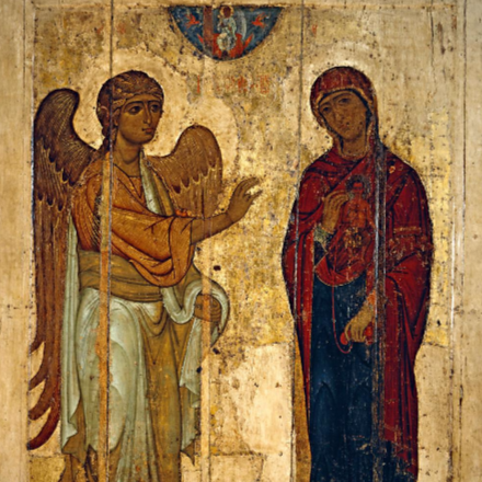 Március 25: a legszentebb Istenszülő örömhírvétele