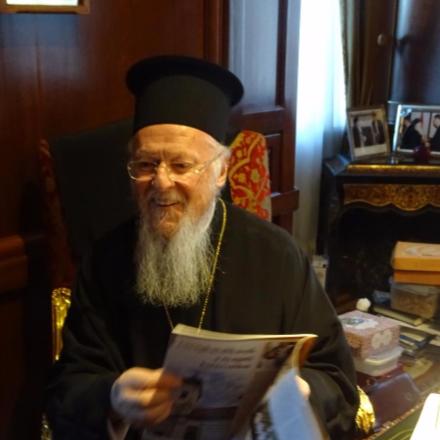 A konstantinápolyi ortodox pátriárkával találkozott Fü... class=